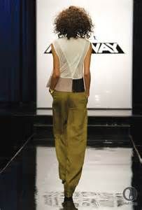 michelle lesniak project runway pegged pants - Bing images