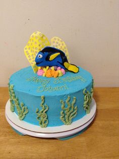 Sweet Creations By Gloria - Leominster, MA, United States. finding Nemo Dory cake