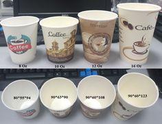 Cốc giấy nóng dùng 1 lần hàng cao cấp Đài Loan , với nắp take away chuyên dụng ( nắp bằng, nắp cầu )dùng đựng cafe nóng,đá, đồ uống