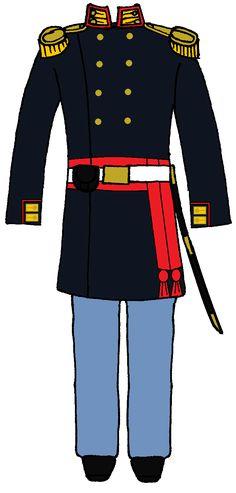 US Marine 1st and 2nd Lieutenant Uniform 1