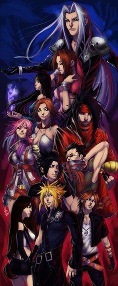 Final Fantasy FANART :D by xdtopsu01.deviantart.com on @deviantART