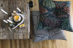 We're Obsessed With The Latest Addition To Our Product Fam: Floor Pillows