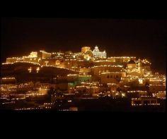 SKIATHOS AT NIGHT. BEAUTIFUL!