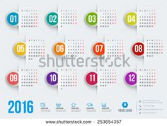 Find Calendar 2015 Vector Template Week Starts stock images in HD and millions of other royalty-free stock photos, illustrations and vectors in the Shutterstock collection. Calendar 2017, Calendar Design, Web Design, Vector Design, Stationery Templates, Stationery Design, Yearly Calendar Template, App Design Inspiration, Color Vector