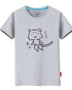 Funny cat Puck t shirt Re Zero Starting Life in Another World tee for teenage