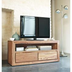 Meuble TV bois de sheesham style scandinavie // serie stockholm 392.40€