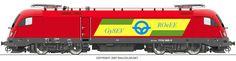 RAILCOLOR.NET - modern locomotive power #railcolor www.railcolor.net #obb #Austria # locomotives #trains #railways #railroads #siemens #eurosprinter #taurus