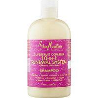 SheaMoisture - Superfruit Shampoo in  #ultabeauty; hair feels moisterized yet clean.