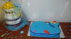 Baby Shower Cake n Diaper Cake