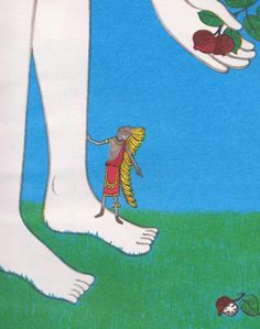 David's Little Indian - written by Margaret Wise Brown, illustrated by Remy Charlip (1956).