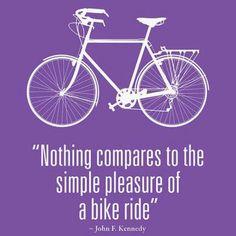 Simple pleasures.