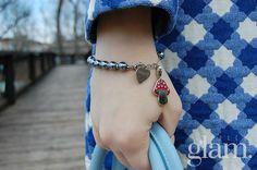 @carmenrecupito #IlToccoGlam con #Sagapo #fashion #blogger #outfit #bracelet #honey #collection #spring