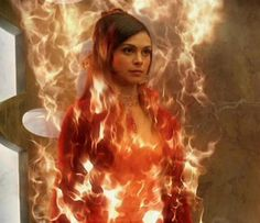 Stargate SG1 - Adria, the orici. Seen here, she has the concentrated power of the Ori.