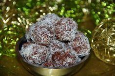 Godt og Sunt: Bounty Sjokoladetrekte Kokoskuler , den sunne utga...