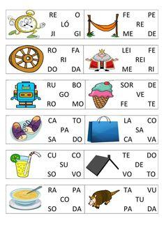 Jogo de formação de palavras.pdf · versão 1-3_006 - Blog PsiquEasy Learn Portuguese, Pre Writing, English Words, Activities For Kids, Alphabet, Homeschool, Education, Learning, Professor