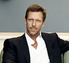 Hugh...lovely blue eyes, delicious