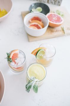 Three of My Most-Loved Spring Cocktails - Simply J & K