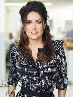 Salma Hayek - Marie Claire @ the office issue