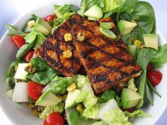 Lemon Achiote Grilled Tofu | delicious yumm.... | Pinterest | Grilled ...