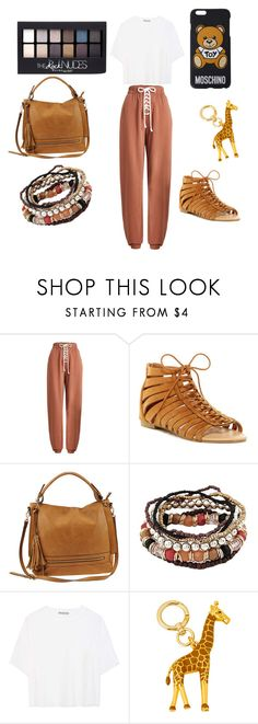 """""""#chill outfit"""" by sinanovicasja ❤ liked on Polyvore featuring Puma, ANNA, Urban Expressions, Maybelline, Vince, Henri Bendel and Moschino"""