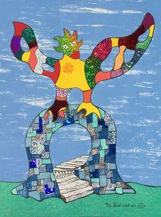 Niki de Saint Phalle, 'Sun Card No. XVIII', 1998