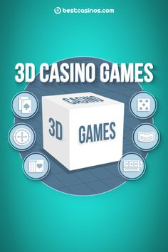 What are 3D casino games?