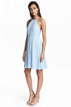2249ecec6 Dress with lace details Model Lace Inset, Simple Dresses, Short Dresses,  Bridesmaid Dresses