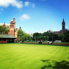 "@Sherry Flora 2014's photo: ""Game of bowls anyone? #glasgow #glasgow2014 #LawnBowls"""