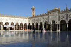 50 Amazing mosques of the world, Al-Azhar Mosque and University, Cairo.