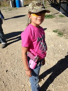 Check out 8-year-old GIA ROCCO and her 'Love Gun', customized by Scalpel Arms.Young Ms.Rocco is active in 4H shooting sports and IDPA. She wants to compete in the