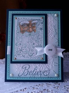 Handmade Card   Believe NEW by llenusik on Etsy, $9.99