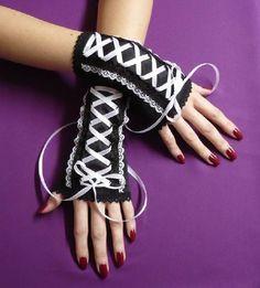 Stulpen auf pinterest fingerlose handschuhe - Gothic adventskalender ...