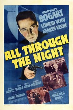 1942 Movie   all through the night 1942 item gi6289 1 your selected format size ...