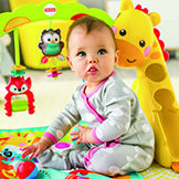 Toys for 5 Month Old Baby - Play Mats & Baby Gyms | Fisher-Price