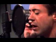 """Robert Downey Jr. sings """"Man like Me"""""""
