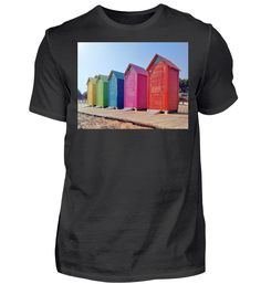Buntes Haus T-Shirt Mens Tops, Fashion, Colorful Houses, Back Stitch, Cotton, Haus, Moda, Fashion Styles, Fashion Illustrations