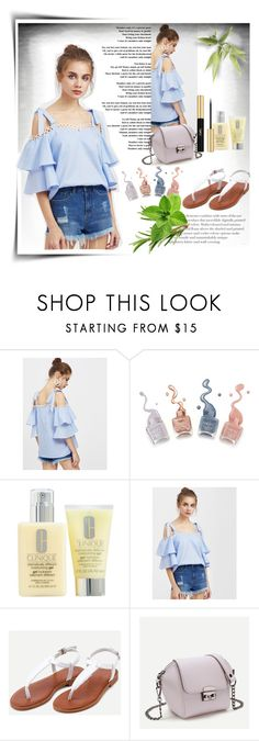 """""""SHEIN"""" by sabine-rose ❤ liked on Polyvore featuring Clinique and Yves Saint Laurent"""
