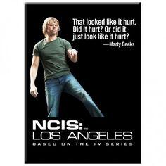 NCIS LA... Hmmmm... if it looks like it hurt... most likely, it hurt!!!