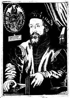 Wolfgang Lazius (1514-1565), from: Laz, Commentariorum vetustorum numismatum, 1558.