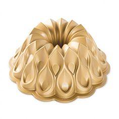 """""""Nordic Ware 91737 Crown Bundt Pan by Nordic Ware at BakeDeco.Com. Shop for Nordic Ware 91737 Crown Bundt Pan from Bakeware / Cake Pans / Bundt Baking Pans at affordable prices. Bundt Cake Pan, Cake Pans, Bundt Pans, 70th Anniversary, Baking Tins, Baking Wares, Irish Cream, Gold Crown, Beautiful Cakes"""
