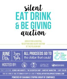Join Us for a Cocktail Reception and Silent Auction