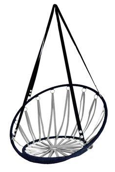 Houpací síte šedé Hanging Chair, Furniture, Home Decor, Homemade Home Decor, Hammock Chair, Hanging Chair Stand, Home Furnishings, Decoration Home, Arredamento