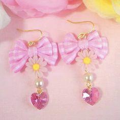 ♡.。.:*・(ღ˘⌣˘ღ) ・*:.。.♡ Kawaii Jewelry, Kawaii Accessories, Cute Jewelry, Diy Jewelry, Jewelery, Jewelry Accessories, Kawaii Fashion, Cute Fashion, Magical Jewelry