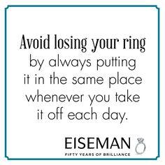 Eiseman Jewels Sparkling Suggestion! | Eiseman Bridal | Engagement Ring | Diamonds