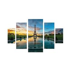 Trademark Global CH Studios 'Lost Passage' Multi Panel Art Set ($140) ❤ liked on Polyvore featuring home, home decor, wall art, backgrounds, landscape wall art, canvas panels, paris canvas wall art, paris wall art and photo wall art