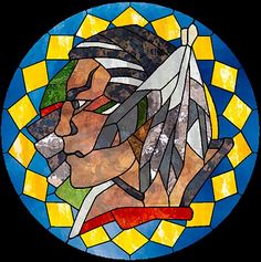 stained glass western and indian motif - Bing images