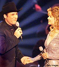 1000 images about mr mrs black on pinterest black for Clint black and lisa hartman wedding pictures