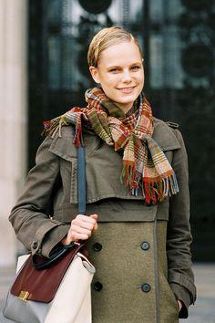 Vanessa Jackman: Paris Fashion Week AW 2012....Josefine