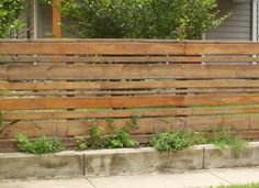 Horizontal Wood Fence Diy Horizontal Wood Fence Diy 5 On Home Design