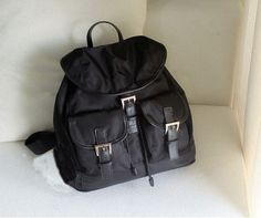 lulula-fashion shopping mall — [gryxh3200596]cool cute pure black backpack